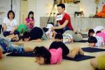 Kids Yoga at Baan Aree Foundation
