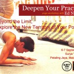 Deepen Your Practice Yoga Workshop with Ed Namchai in Petaling Jaya, Malaysia