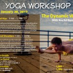 Yoga Workshop: The Dynamic Vinyasa with Kru Ed Namchai