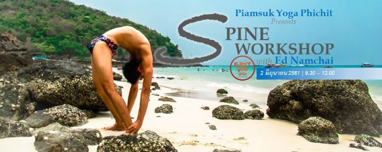 Spine Workshop with Ed Namchai
