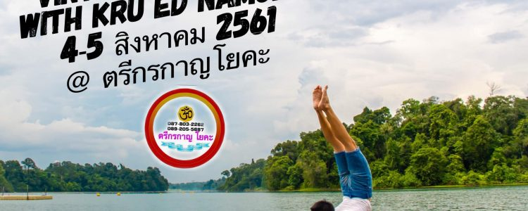 Functional Vinyasa Workshop with Ed Namchai at ตรีกรกาญโยคะ 4 - 5 Aug 2018