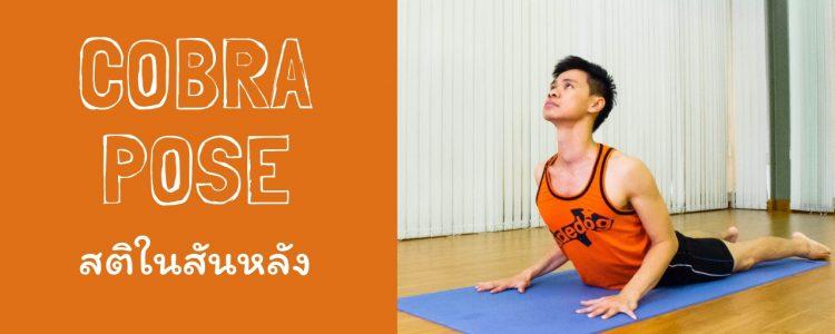 Cobra Pose: สติในสันหลัง