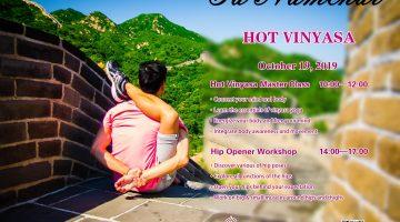 Hot Vinyasa Master Class and Workshop with Ed Namchai