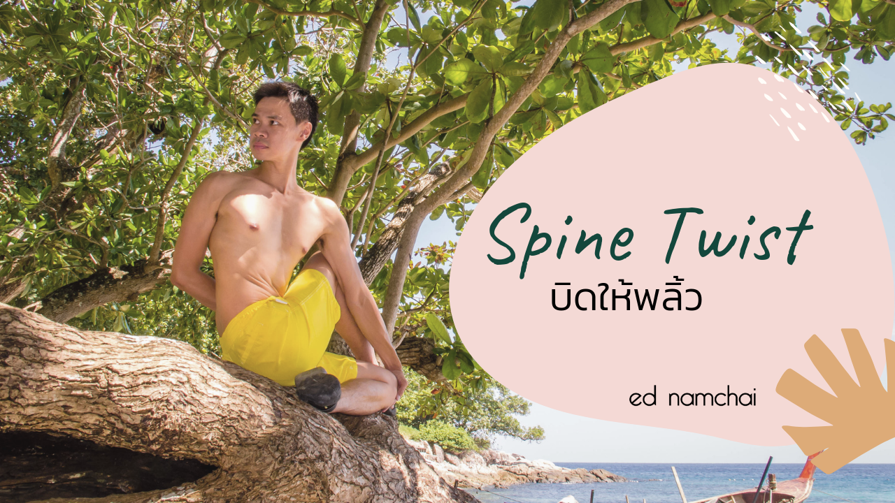 Spine Twist บิดให้พลิ้ว