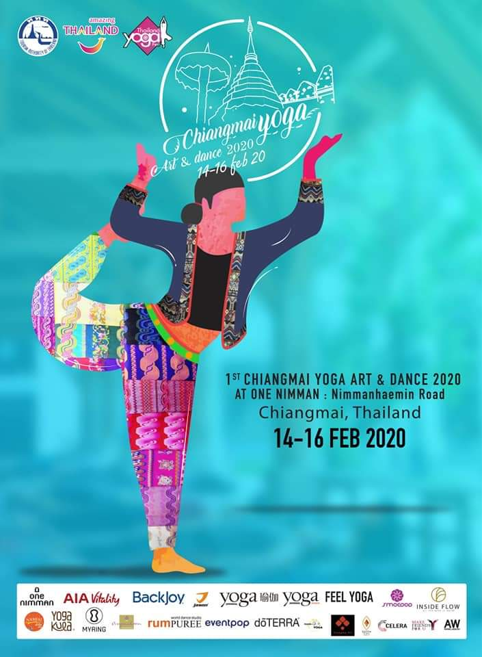 Chiang Mai Yoga, Art & Dance 2020