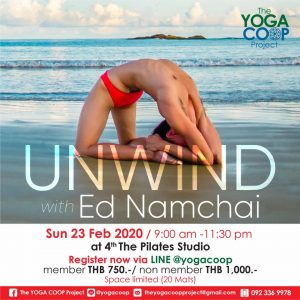 Unwind with Ed Namchai