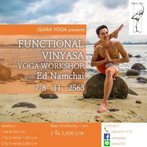 Functional Vinyasa Yoga Workshop with Ed Namchai